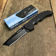 Cold Steel Recon 1 CTS-XHP Tanto Combo Edge G-10 Handle Tactical Knife 27TLCTH