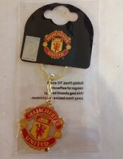 Manchester United FC Crest Keyring / Keychain Official Merchandise