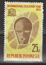 Indonesie 688 used UNESCO 1970 NOW MANY INDONESIA STAMPS in our ebay.nl shop