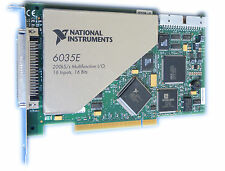 National Instruments NI 6035E 16 Inputs, 16 Bits  Multifunktion I/O  #250