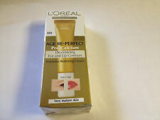 Loreal Age re-perfect pro-calcium Ojos Y Labios de contornos Restaurar Cream 15ml