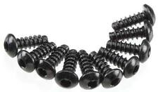 Axial Wraith Rock Racer Crawler Hex Tap Button Head M3x8mm Black (10) AXA434