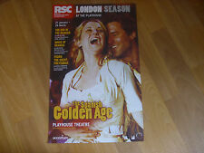 RSC Royal Shakespeare SPANISH Golden Age  PLAYHOUSE Theatre Original Poster