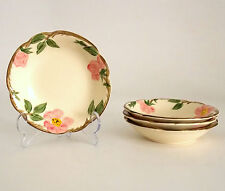 1949 - 53 FRANCISCAN DESERT ROSE FRUIT, DESSERT DISH; CALIF MADE; PRICE IS FOR 1