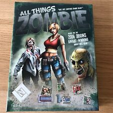 All Things Zombie LNL Publishing 2009 Board Miniature Game | 99% Complete Rare