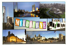 Melbourne Australia  Fridge Magnet.