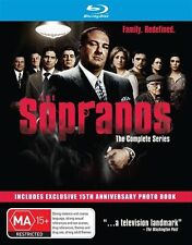 The Sopranos - Complete Collection (Blu-ray, 2014, 27-Disc Set)