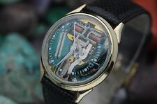 C. 1966 Vintage ACCUTRON By BULOVA Spaceview 10K G.F. Men's Dress Watch