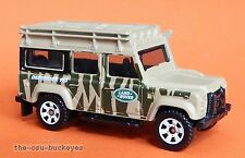 2011 Matchbox Loose 1997 Land Rover Defender 110 Flat Dark Tan Land Rover Logo