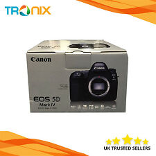 "Canon EOS 5D Mark IV 30.4MP DSLR Camera 3.2"" Touch LCD 4K + 3 Years  Warranty"