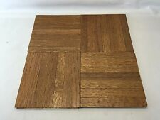 COLOR TILE NOS PREMIUM OAK PARQUET PREFINISHED 6 x 6 FLOORING TILES 75 SQ FT