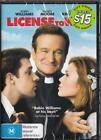 LICENSE TO WED - ROBIN WILLIAMS - NEW & SEALED REGION 4 DVD - FREE LOCAL POST