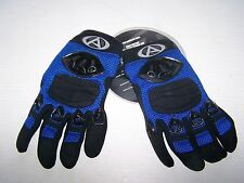 NEW AGV COOLTEX GLOVE BLUE SMALL