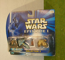 STAR WARS EPISODE I MICRO MACHINES COLLECTION II BOSS NASS GUNGAN NUTE GUNRAY
