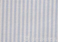 Stoff@Baumwolle@gestreift@Streifen hellblau  0,25 Baumwollstoff
