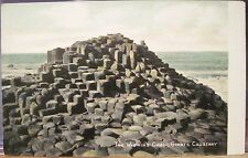 Irish Postcard WISHING CHAIR - GIANTS CAUSEWAY Northern Ireland Pepper Portrush