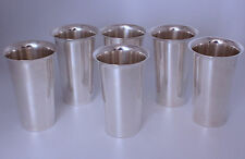 Sterling Silver Mint Julep Cups Tall by Fina