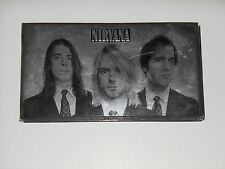 NIRVANA With the Lights Out CD & DVD 4 Discs BOX SET 2004 90s GRUNGE Kurt Cobain