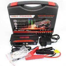 68800mAh Multi-Function Car Jump Starter Power Bank Rechargable Battery 4USB 12V