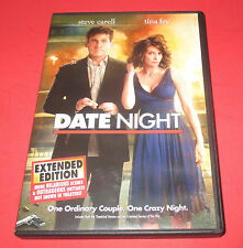Date Night (DVD, 2010, Extended Edition) STEVE CARELL TINA FEY FREE SHIP!