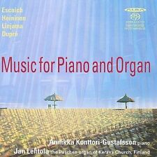Music for Piano and Organ, New Music