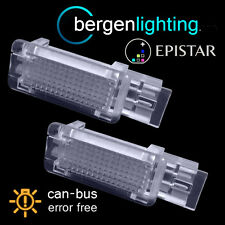 FOR MERCEDES C CLK CLASS MATBACH 18 LED INTERIOR FOOTWELL BOOT DOOR LAMPS