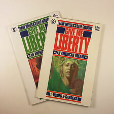 Give Me Liberty Set of 2 (#1-2) NM- Gibbons, Prestige Format