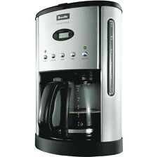 Programmable Stainless Steel Breville Filter Coffee Maker Machine Electronic New
