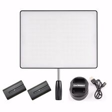 YONGNUO YN600 Air LED Camera Video Light For DSLR + 2*NP-F550 Battery + Charger