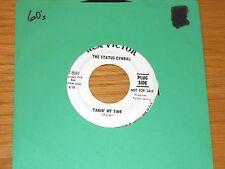 """PROMO 60s ROCK 45 RPM - THE STATUS CYMBAL - RCA 47-9344 - """"TAKIN' MY TIME"""""""
