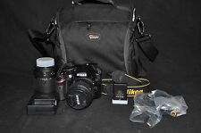 Nikon D3200 24.2MP 530 Pics Digital SLR CameraKit AF-S DX VR II 18-55mm 3.5-5.6G