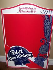 Pabst Blue Ribbon beer PBR chalkboard sign NEW IN BOX