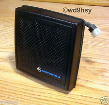 Motorola External Amplified Radio Speaker HSN1000 / 1006 6 Watt TESTED VHF UHF