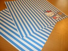 Sanrio Hello Kitty 2 sheets Paper Stationary Craft Scrapbooking clown teddy U