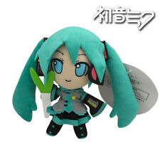 "Cutie Smile Hatsune Miku 15cm / 6"" Soft Plush Stuffed Doll Toy"