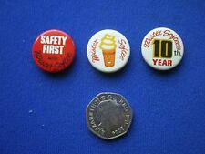 '' Mister Softee ''  3  pin badges   1960s