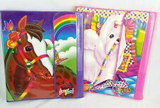 Vintage Rare Lisa Frank Trapper Keeper Binder Lot New Unused Horse