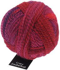 Schoppel Zauberball Stärke 6 Farbe 2095 Indisch Rosa 150g Sockenwolle
