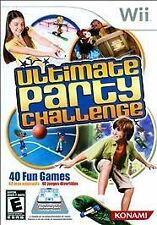 ULTIMATE PARTY CHALLENGE WII  GAME NEW
