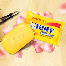 New Formulate Universal Body Care Skin Cleaning Bathing Sulfur Soap For Acne IB