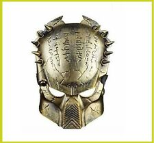 Plastic Alien vs Predator Warrior Mask Halloween Cosplay Fancy Dress Comicon