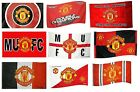 OFFICIAL MANCHESTER UNITED FOOTBALL CLUB FLAGS 5ft x 3ft