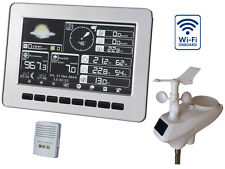 Profi Funk Wetterstation HP1000 Wifi Solar Farbdisplay Windmessung Regen UV