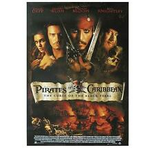 "PIRATES OF THE CARIBBEAN POSTER""BRAND NEW"" LICENSED ""JOHNNEY DEPP,ORLANDO BLOOM"""