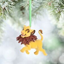 Disney Store LION KING SIMBA CUB Christmas Tree Ornament Collectible - Resin