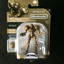 World Of Nintendo Trophy Samus Metroid Jakks