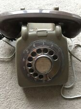 Vintage 1970s Rotary Dial Phone British Authentic Southend-On-Sea