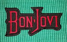 Bon Jovi Rockabilia Music band Iron/ Sew-on Embroidered Patch / Badge/ Logo