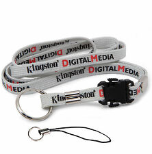 Kingston Lanyard Neck Strap for Flash Drive ID Card Holder KeyChain