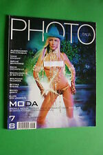 MAGAZINE PHOTO ITALIA 7-8/2001 DAVID LACHAPELLE BETTINA RHEIMS MICHEL COMTE